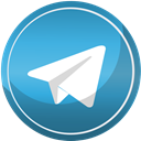 Social, telegram, media, Contact, web SteelBlue icon