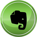 media, Contact, web, Social, Evernote OliveDrab icon