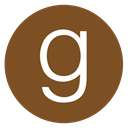 round, g, social media, Goodreads, Ebooks, read, Books SaddleBrown icon
