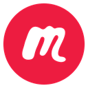 media, network, social media, Social, Meetup, Circled, meetup.com Crimson icon