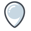 office, Map, App, web, pin, seo, structure LightGray icon