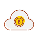 internet, Cloud, banking, Bank, technology, financial Black icon