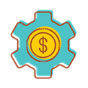 technology, financial, making, internet, Money, Bank MediumTurquoise icon