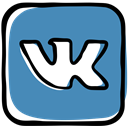 network, Message, social media, Social, social network, Communication, Vk, media SteelBlue icon