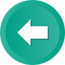 Back, Arrow, previous, Direction, Ago LightSeaGreen icon