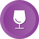 summer, cocktl, Alcohol, drink, glass, Bar, party DarkOrchid icon