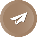 Message, send, education, airplane, Eml Gray icon
