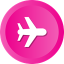 Airliner, rbus, rplane, Launch, Plane, flight DeepPink icon
