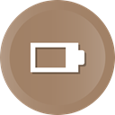 Full, Device, phone, hal, electronic Gray icon