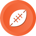 Game, Ball, american, Football, sports, Rugby Tomato icon