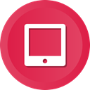 ipad, electronics, Communication, Appliance, Device, Tablet, technology Crimson icon