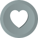 love, Favourite, Favorites, bookmark, Heart, Like, wishlist LightSlateGray icon