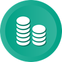 Business, Finance, Coins, Bank, marketing, banking LightSeaGreen icon
