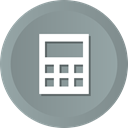 math, Device, calculator, Business, Finance, calculate LightSlateGray icon
