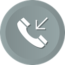 Mobile, phone, Call, telephone, smartphone, incoming LightSlateGray icon