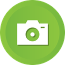 fullframe, dslr, digital, photograph, Camera, photo YellowGreen icon