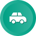 Car, transportation, travel, transport, vehicle LightSeaGreen icon