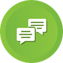 Chat, Comments, Bubble, Comment YellowGreen icon