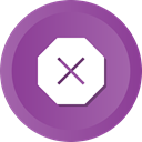 cancel, x, Exit, Close, delete, remove DarkOrchid icon