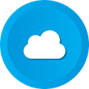 sky, computing, Cloud, Clouds, Cloudy, storage DeepSkyBlue icon