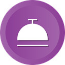 food, Restaurant, Dish, kitchen, Dome DarkOrchid icon