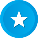 star, bookmark, Favorite, Favourite, rate DeepSkyBlue icon
