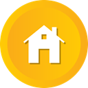 store, Building, Shop, Estate, Home, house, real Orange icon