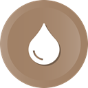 water, Teardrop, liquid, rn, rndrop, drop Gray icon