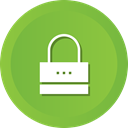 Protection, privacy, password, Lock, secure, security YellowGreen icon