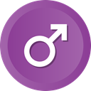 sign, Man, medical, male DarkOrchid icon