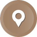 location, pin, Map, navigation, Gps Icon