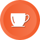 Coffee, cup, tea, glass, Handle Tomato icon