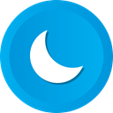 Astronomy, sleep, nature, phase, Moon, night DeepSkyBlue icon