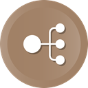 team, Members, Organization, Hierarchy, teamwork Gray icon