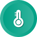 warm, Mercury, Heat, degree, temperature, thermometer, Celcius LightSeaGreen icon