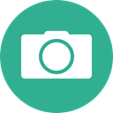 Camera, green, photo, photography, Circle, Photographer, shutterbug LightSeaGreen icon