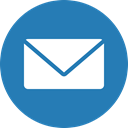 Letter, messages, cercle, Email, envelope, mail SteelBlue icon