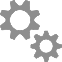 gears, machine, Cogs, preferences, settings Gray icon