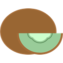 Fruit, Kiwi Sienna icon