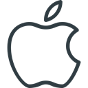 Logo, Brand, Logos, Brands, ios, Apple Black icon