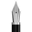 Pen, Fountain Black icon