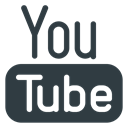 media, Logo, Social, youtube DarkSlateGray icon