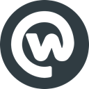 Logo, Social, workplace, media DarkSlateGray icon
