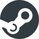 media, Logo, Social, steam DarkSlateGray icon