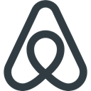 media, Logo, Social, Airbnb DarkSlateGray icon