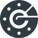 Logo, google, Authenticator, Brand, Logos, Brands DarkSlateGray icon