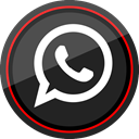 Logo, Social, Whatsapp, media DarkSlateGray icon