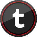 Logo, Social, Tumblr, media DarkSlateGray icon