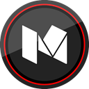 media, Logo, medium, Social DarkSlateGray icon