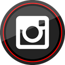 media, Logo, Social, Instagram DarkSlateGray icon